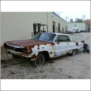 1964 Impala SS Rebuild