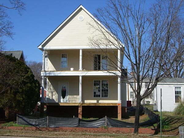 House Construction, 2503 Semmes Ave