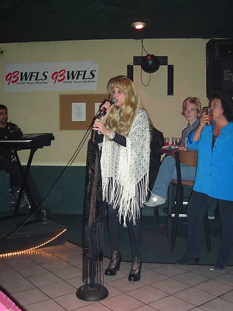 Karaoke Night in FREDVEGAS 3/10/05