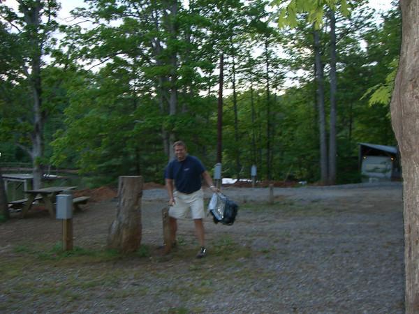Camping, Smith Mt. Lake, '06